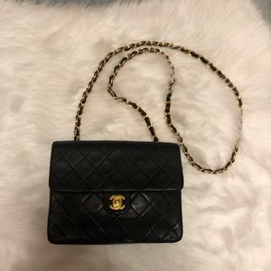 Chanel Classic Quilted Mini Single Flap Purse